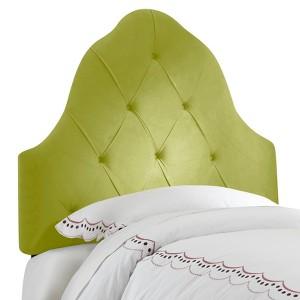 Skyline Carly Tufted Headboard, Green