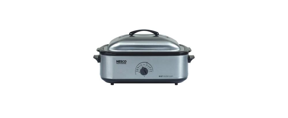 Nesco 18 Qt. Professional Toaster Oven - Silver