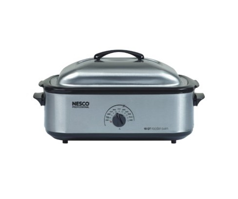 Nesco 18 QT Professional Porcelain Roaster - Silver - image 1 of 1