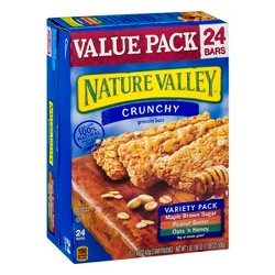 Nature Valley Crunchy Variety Pack Granola Bars - 24ct