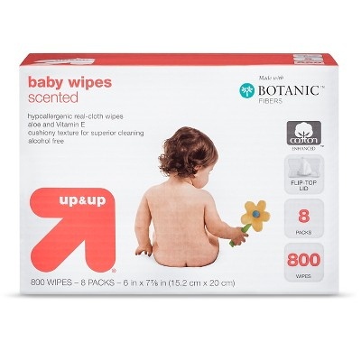 up & up™ Scented Baby Wipes Refill Pack - 792 Count