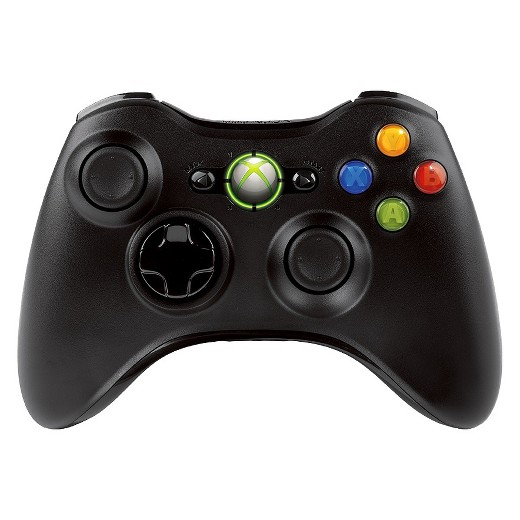 xbox 360 accessories video games target xbox 360 wireless contoller black xbox 360