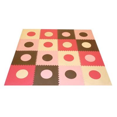Tadpoles Playmat Set, Pink/Brown