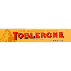 TOBLERONE Swiss Milk Chocolate Candy Bar - 12.6oz