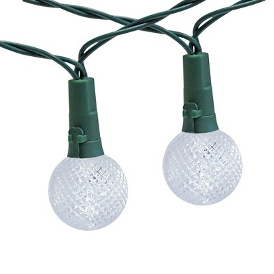 30lt solar globe string lights