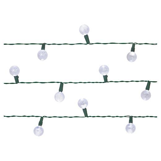 30Lt Solar Globe String Lights - Room Essentials : Target
