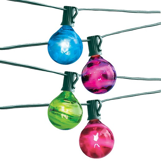 10Lt Marble G50 Set - String Lights - Room Essentials : Target