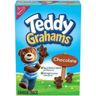 Teddy Grahams Chocolate Graham Snacks - 10oz