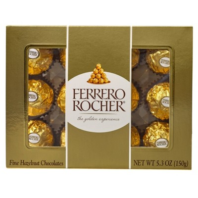 Ferrero Rocher Hazelnut Chocolates 5.3oz