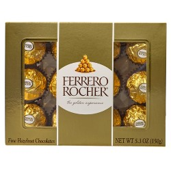 Ferrero Rocher Hazelnut Chocolates 5.3oz