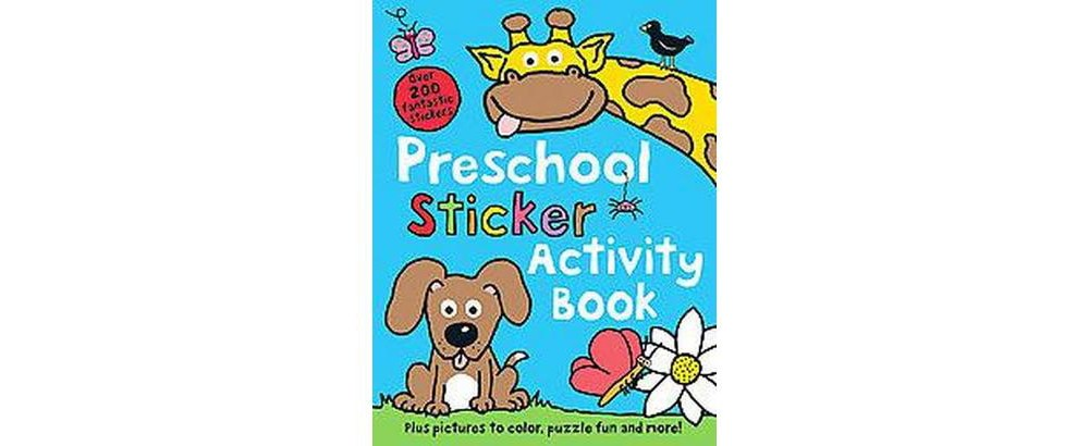 Preschool Sticker Activity Book (Paperback)