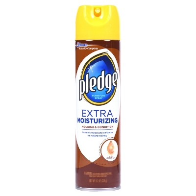 Pledge Extra Moisturizing Furniture Spray, 9.7oz