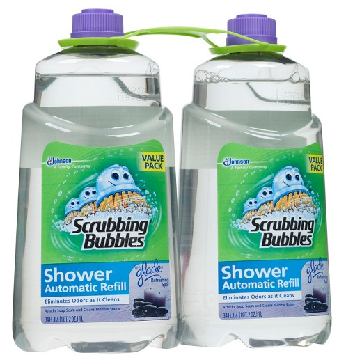 Automatic shower cleaner refill coupon