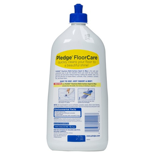 loved ... - Pledge FloorCare Glade Rainshower Scent Multi-Surface Squirt & Mop