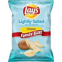 Lays Lightly Salted Chips 9.75oz