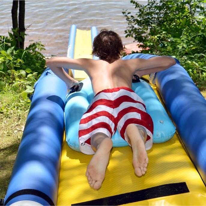 Rave Sports Turbo Chute Lake Water Slide Package