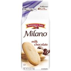 Pepperidge Farm® Milano® Milk Chocolate Cookies, 6oz Bag