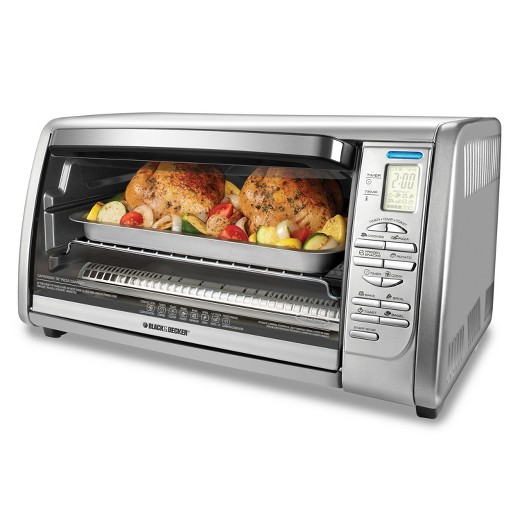 BLACK DECKER™ 6 Slice Convection Oven Stainless Steel Tar