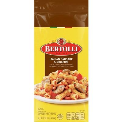 Attractive Bertolli Frozen Italian Sausage U0026 Rigatoni Dinner 24 Oz