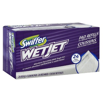 Swiffer Wet Jet Pad Refills - 24 Count
