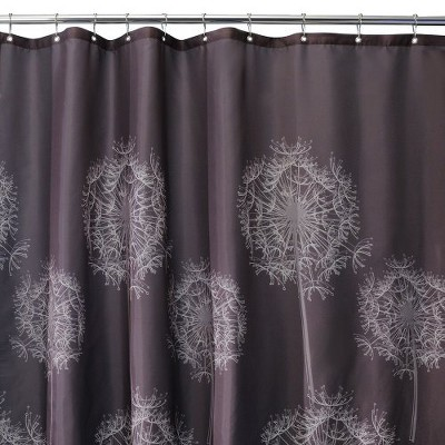interdesign dandelion shower curtain target. Black Bedroom Furniture Sets. Home Design Ideas