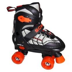 Schwinn Unisex Youth Adjustable Roller Skate - Black/Red 5-8
