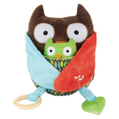 Skip Hop Treetop Friends Activity Hug & Hide Toy, Owl
