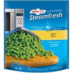 Birds Eye Steamfresh Selects Frozen Sweet Peas 12 oz