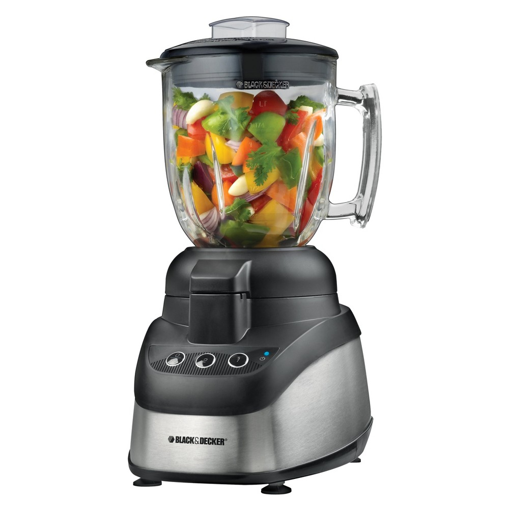 Black Decker Powerpro  Cup Food Processor Blender