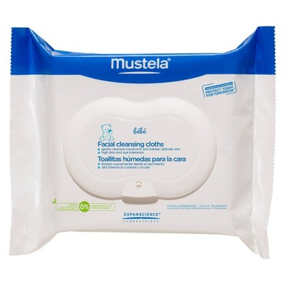 Mustela Facial Cleansing Cloths - 25 ct