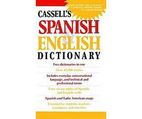 Dic Cassell's Spanish and English Dictionary (Paperback) (L. P.  Harvey) - image 1 of 1