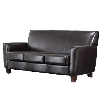 Threshold Nolan Bonded Leather Sofa