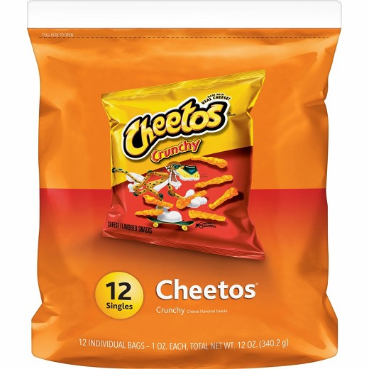 cheetos crunchy cheese flavored snacks 12 ct target