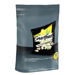 Smartfood White Cheddar Cheese Flavored Popcorn - 1oz/12ct