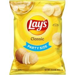 Lay's® Classic Potato Chips - 15.25oz
