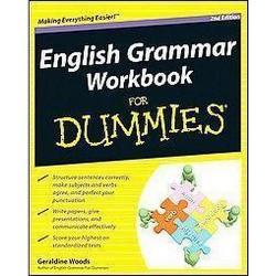 English Grammar Workbook for Dummies (Paperback) (Geraldine Woods)