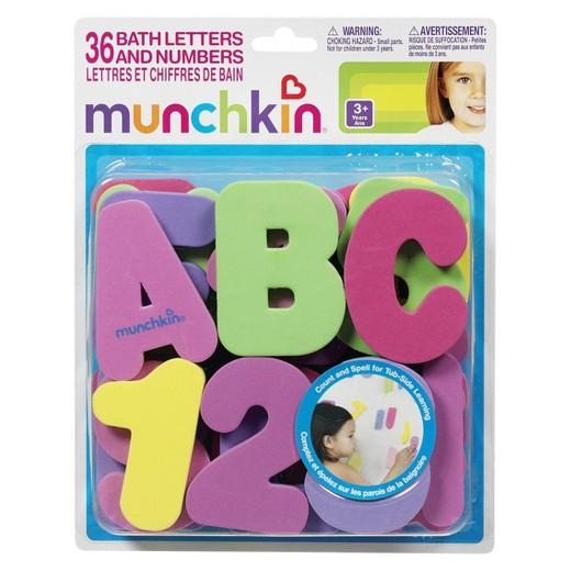 Munchkin 60pc Foam Bath Learning Toy Pack