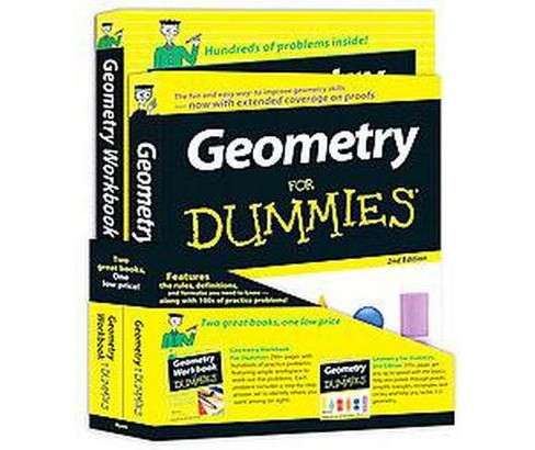 Geometry For Dummies (Paperback) (Mark Ryan) - image 1 of 1
