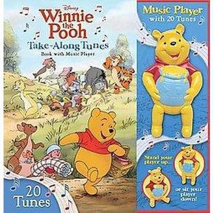 Winnie the Pooh Take-Along Tunes : Book With Music Player (Hardcover)