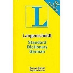 Langenscheidt Standard Dictionary German : German - English, English - German (Bilingual, Revised,