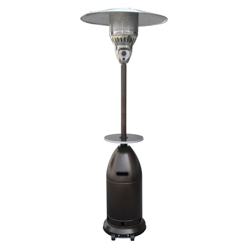 Tall Tapered Propane Patio Heater with Table - Hammered Bronze - image 1 of 3