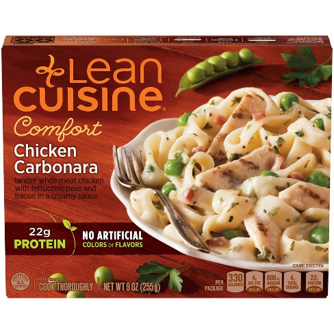 Lean Cuisine Cafe Cuisine Chicken Carbonara - 9oz - image 1 of 5