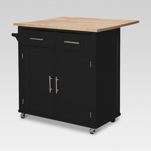 Large Kitchen Island with Wood Top and Storage - Threshold™ : Target