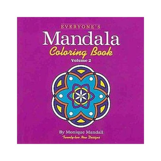 everyones mandala adult coloring book