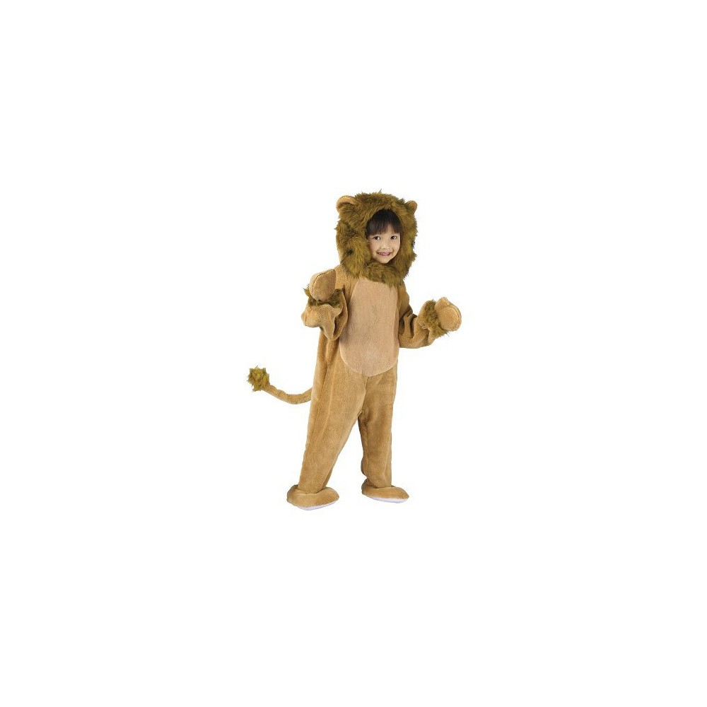 Toddler Cuddly Lion Costume 3T-4T, Toddler Unisex, Variation Parent