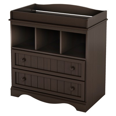 South Shore Savannah Collection Changing Table - Espresso