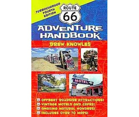 Route 66 Adventure Handbook : Turbocharged (Paperback) (Drew Knowles) - image 1 of 1