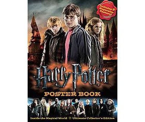 Harry Potter Poster Book : Inside the Magical World: Ultimate Collector's Edition (Paperback) - image 1 of 1