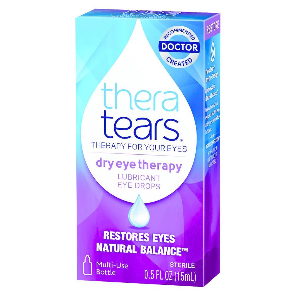 Thera Tears Lubricant Eye Drops 0.5 Fl Oz