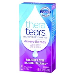 Thera Tears Lubricant Eye Drops 0.5 Fl Oz